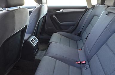 Les sièges confortables de l'audi A5 Sportback, location audi a5 chez Starge Location