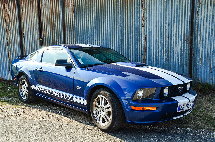 La Ford Mustang GT, location de voiture mustang chez Starge location