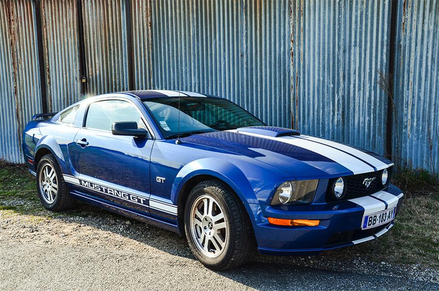 La belle Ford Mustang GT, d location de voiture mustang chez Starge location